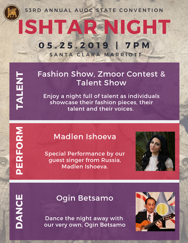 AUOC - Ishtar Night (3 Events)