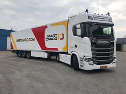 Mart Cargo in Holland