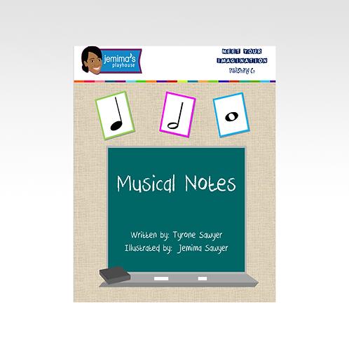 Musical Notes Digital Book