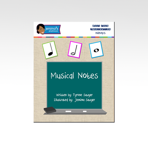 Musical Notes Book