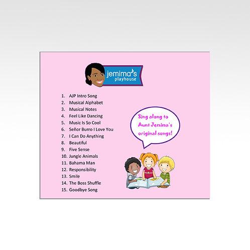 Jemima's Playhouse Sing-a-Long Music Album