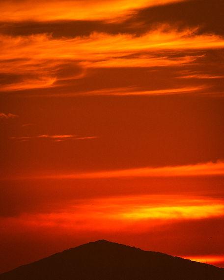 landscape sunset mountain