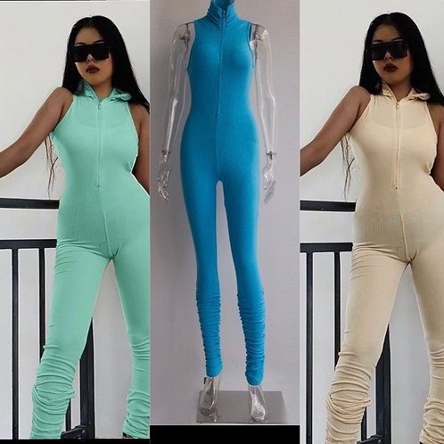 High stacked jumpsuit
