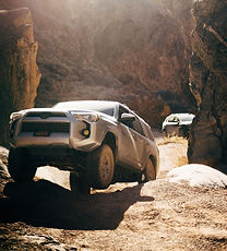gray%20Toyota%20SUV%20in%20the%20middle%