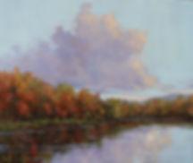 Price Lake Sky 16x20.JPG