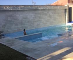 Quartzito piscina verde