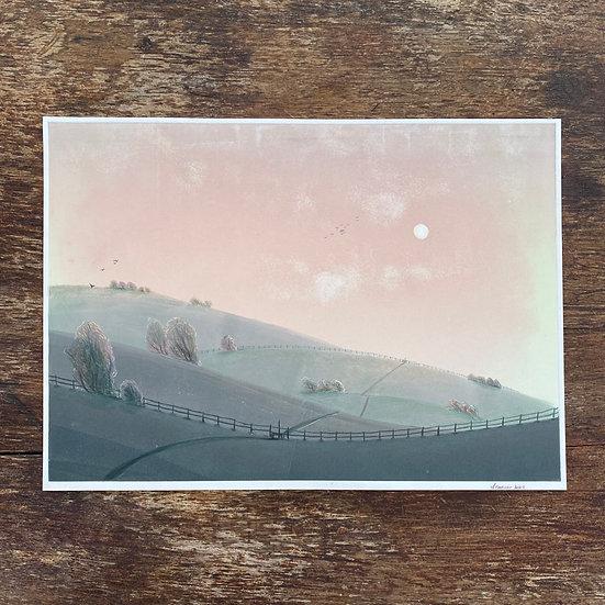 Dusky Sky, Rolling Hills
