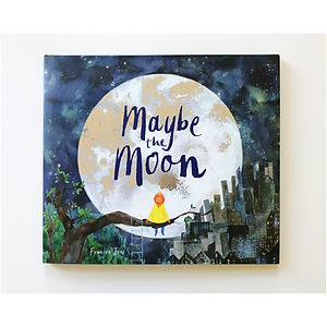 Frances Ives - Maybe the Moon cover copy