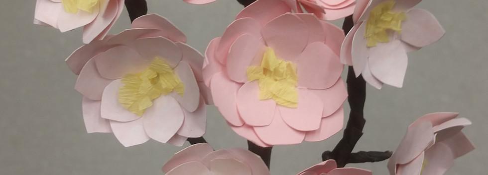 Cherry Blossom Boutonnière