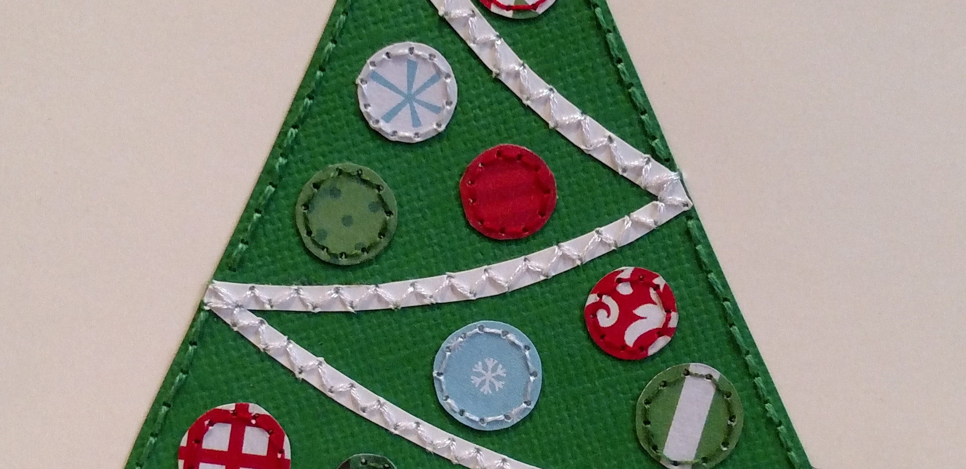 Paper Tree with Ornaments