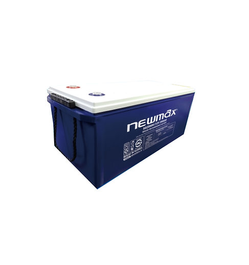Batería Gel NewMax 12v 200ah
