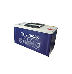 Batería Gel NewMax 12v 100ah