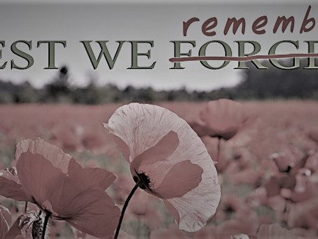 Lest We Remember…
