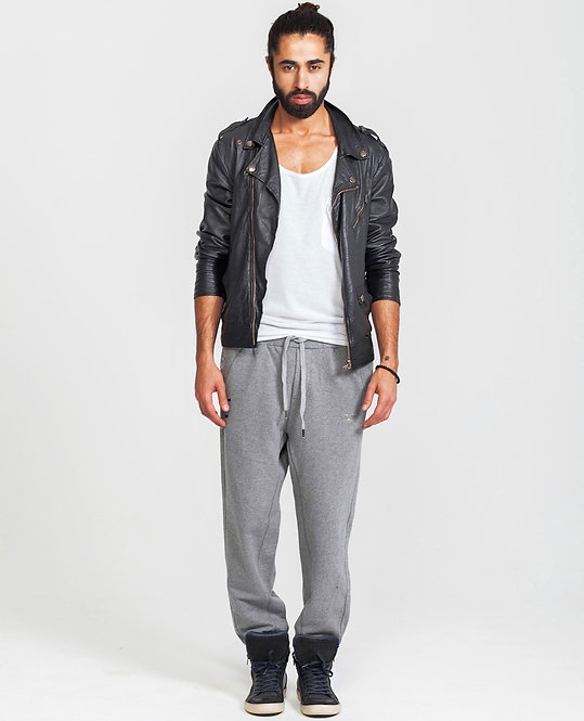 MENS SWEAT PANTS in Grey Htr