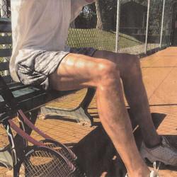 Active wear with #tvop #tuvoisoupas #sports #break #tbt #tennis #outdoors #sunny #sweat #legs #worko