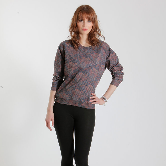 Y-TVOP Brown Sweater Sq1 Earth Print