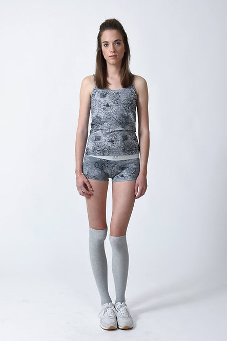 SHOP THE LOOK - Bodywear Combo - Gray Floral