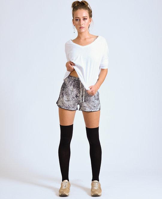Unisex Floral Shorts Grey Goose - Retail CHF 69.00