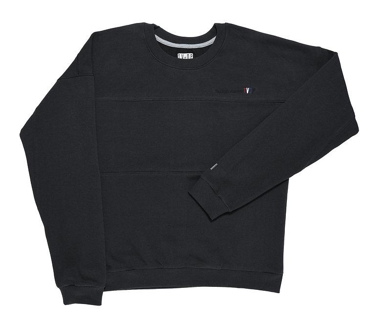 UNISEX Sweater Видишь или нет TVOP - VintageBlack