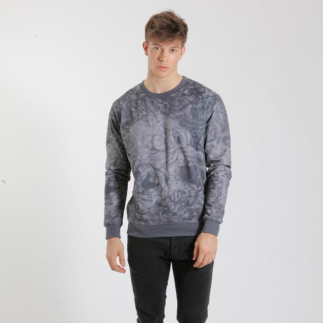 Men's Sweater - Lilac Floral