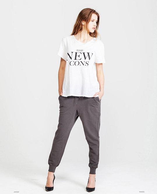 Women's Sweat Pants - ash grey htr