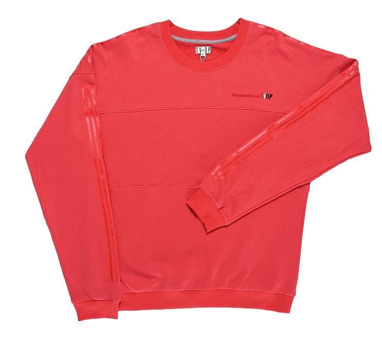 UNISEX Sweater Видишь или нет TVOP - Red.Stripes