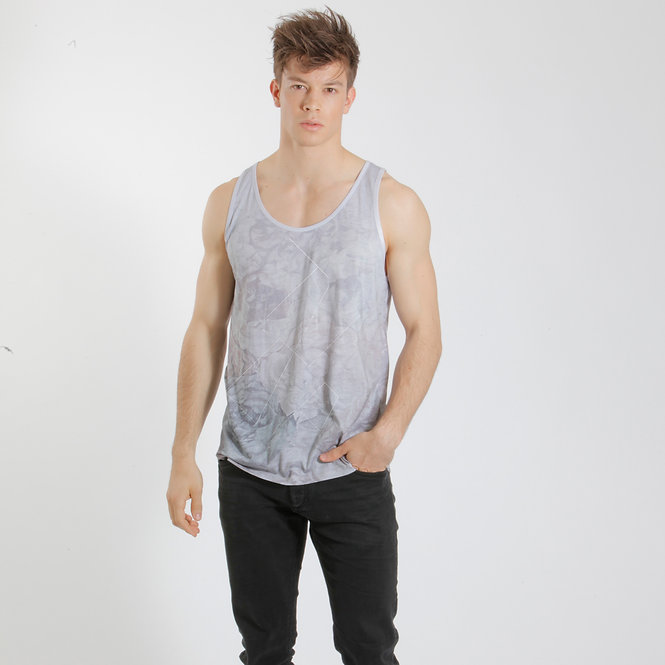 Floral Tanktop Faded Ash - Retail CHF 59.00