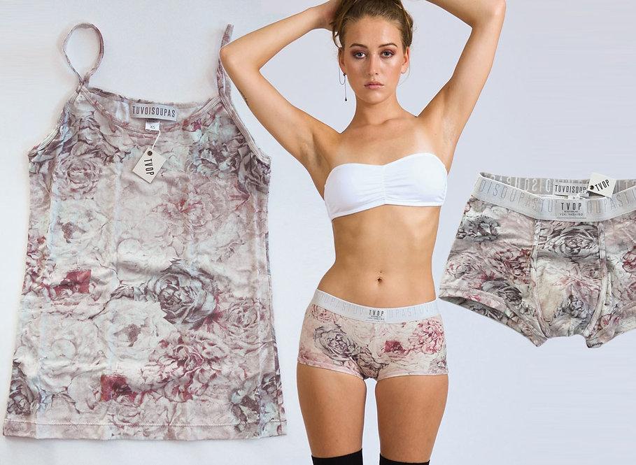 Sailaway Reef Couples Bodywear-Set - panties/top/trunks