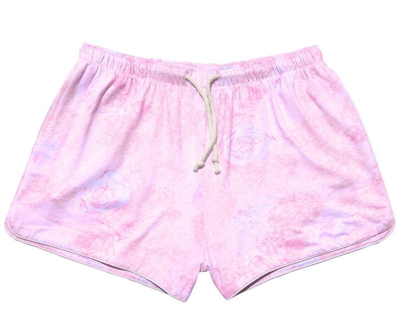 UNISEX Floral Shorts Pastel Sunshine
