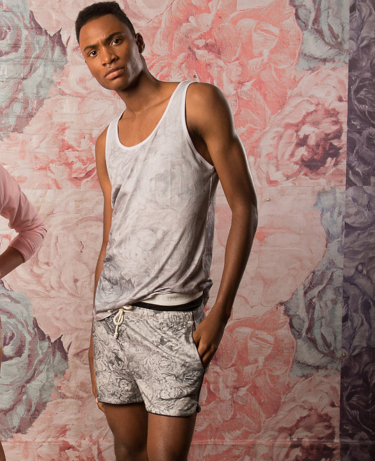 SHOP THE LOOK - Floral Tank Top / Shorts