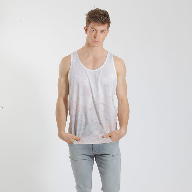 Floral Tanktop Faded - Retail CHF 59.00