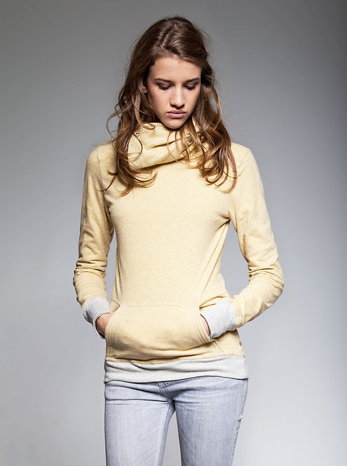 Women's Wrap.up Hoodie Gold Fields - Retail CHF 119.00