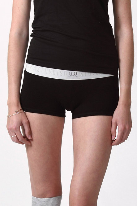 Boyshort Panties - Black - Retail CHF 32.90