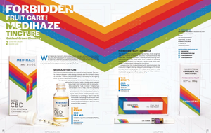 DOPE Reviews Chemistry's Full-Spectrum Forbidden Fruit Vape and High CBD MediHaze Tincture