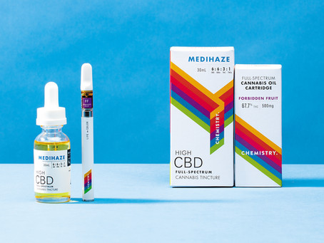 DOPE Magazine Reviews Chemistry's Full-Spectrum Extracts