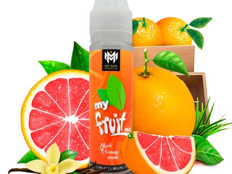 My fruit mix - Blood orange cream