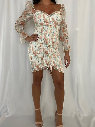 Mila White Dress