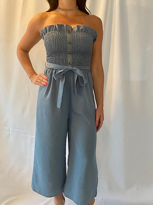 Tiffany Strapless Jumpsuit