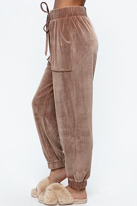 Velvet Corduroy Jogger Pants
