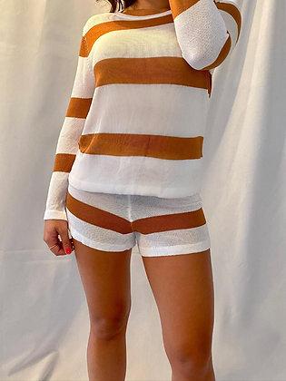 Hannah Striped Set