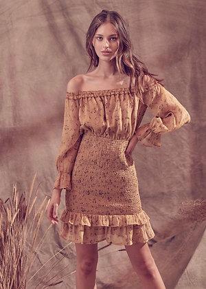ATHENA MUSTARD DRESS