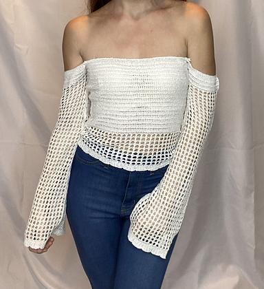 Courtney Crochet Top
