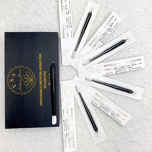 Disposable Microblading Pen _ Eccentric U18, 0.18 _ 10pcs/box
