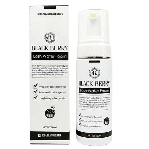 Eyelash Water Foam Cleanser, Pre-Treatment - 160ml