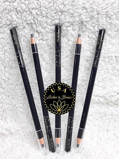 Waterproof Pencil - Black - 5pcs