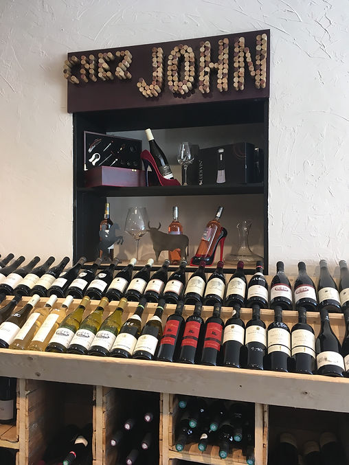 cave a vin eyguieres chez john