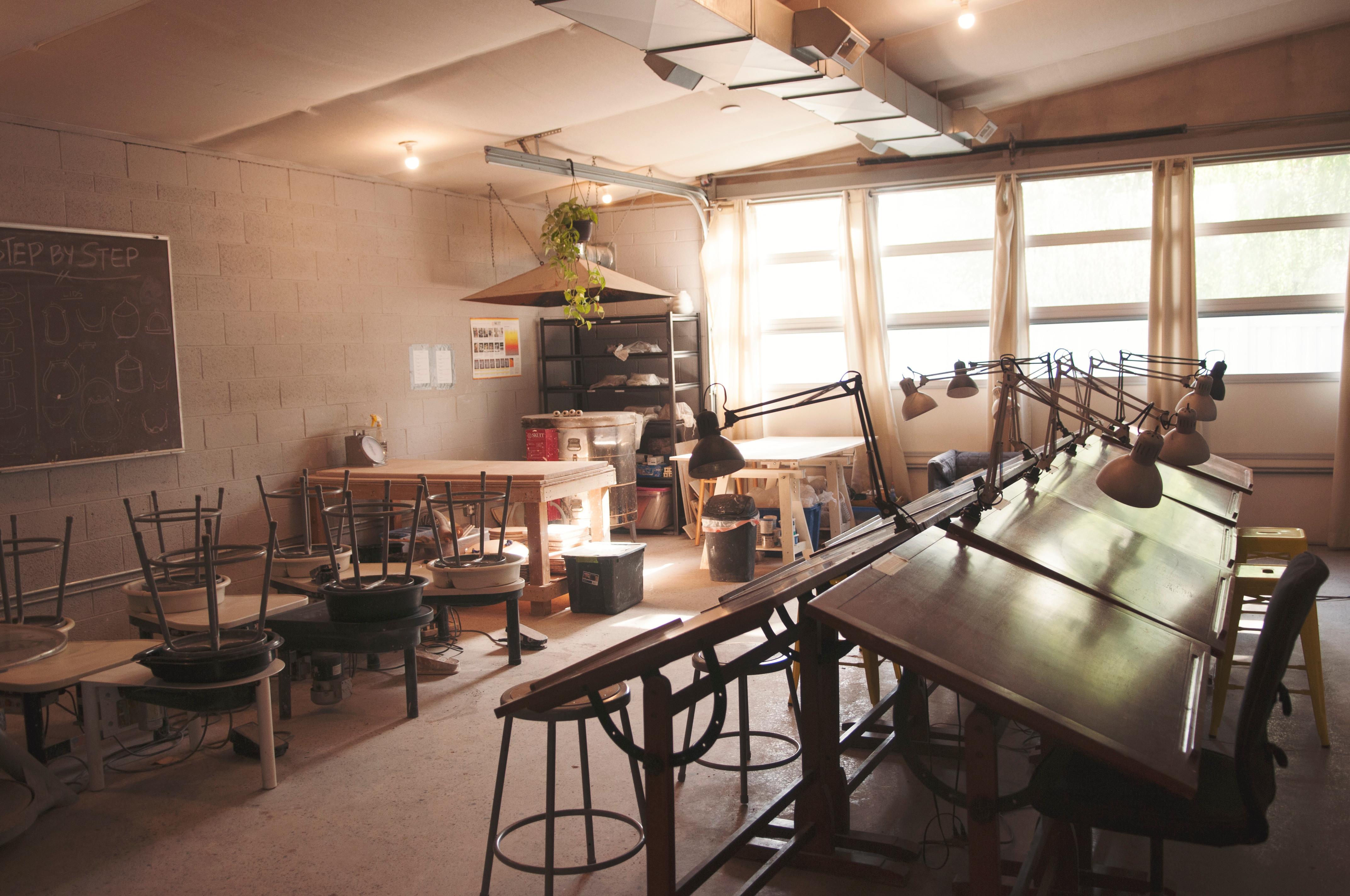 Pottery Open Studio