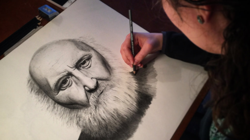 Adult Sketching/Drawing Classes - Wednesdays 6-8 pm