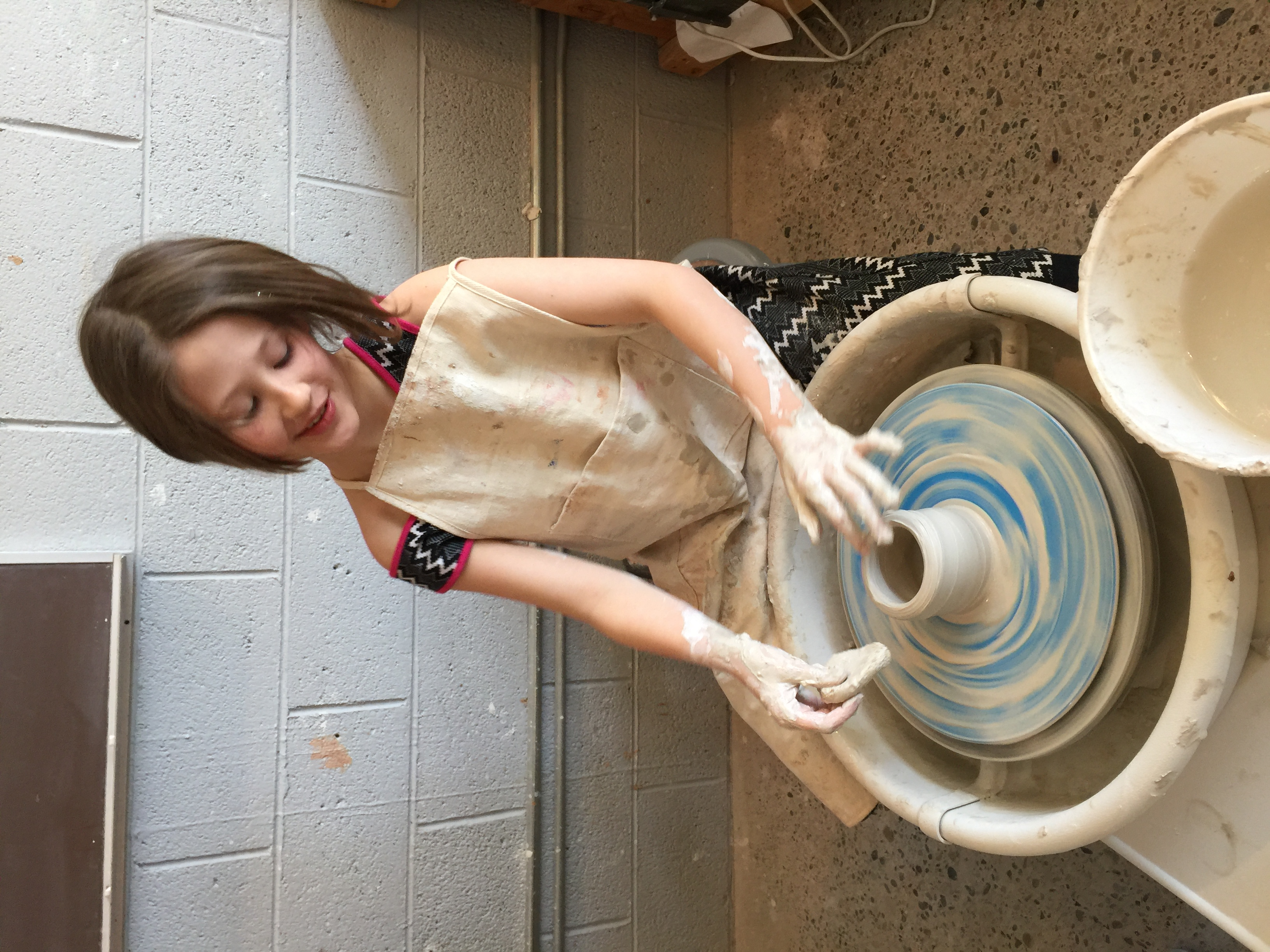 Children's Wheel Thrown Pottery