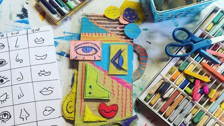 Wacky Week of Art, Aug 3-6, ages 5-11